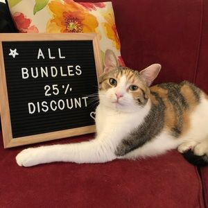 Other - ALL bundles, 25% off!